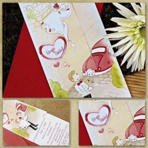 invitatii nunta cod 32708 Romeo & Julieta