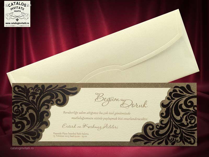 invitatie nunta cu catifea 5416