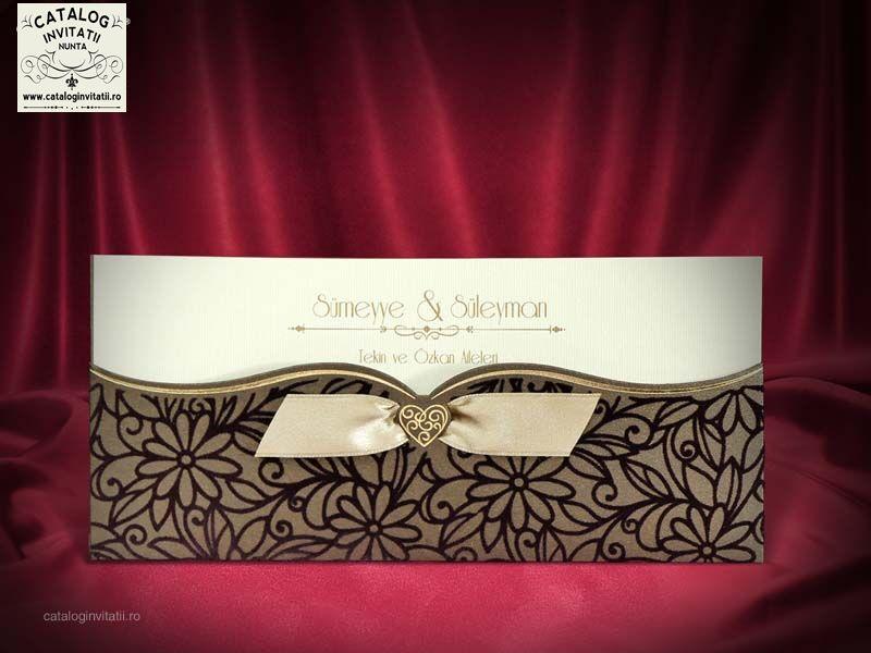 nvitatie nunta cod 5462