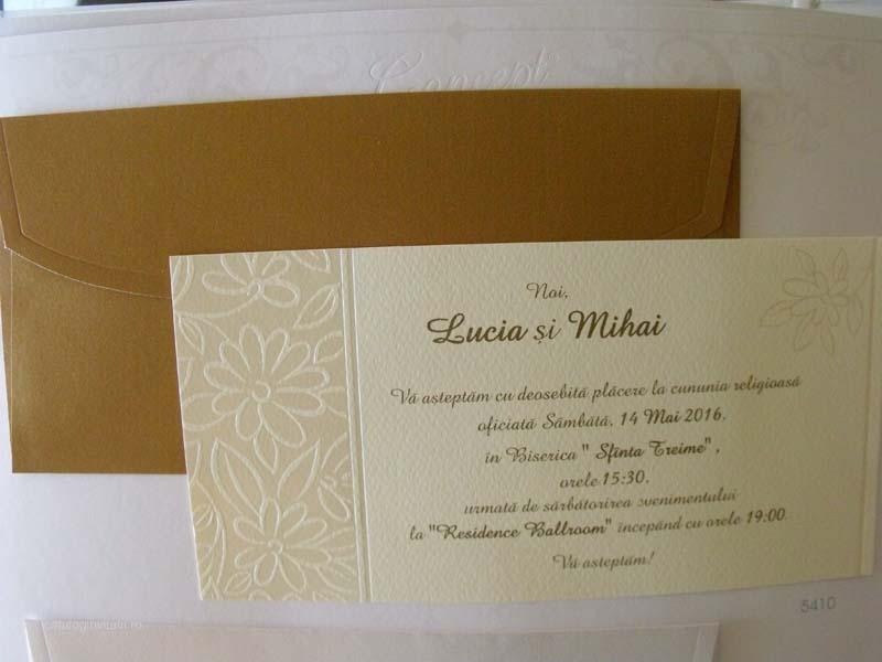 Invitatii nunta cod 5410