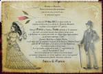 Invitația de nunta a societății descrise de I.L. Caragiale