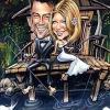 invitatie nunta caricatura