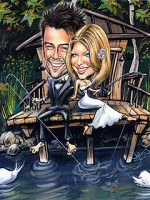 Invitația de nunta – Caricatura