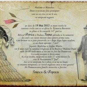 invitatie 5392