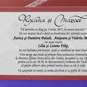invitatie nunta 5390