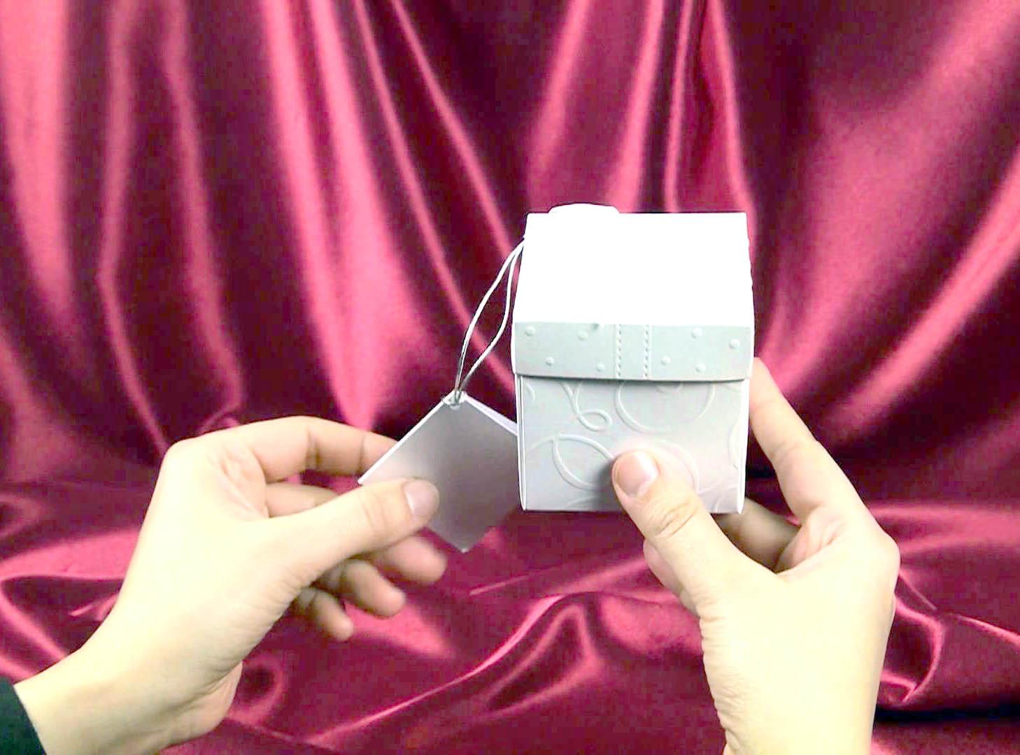 Invitatie De Nunta Cutiuta Argintie 5358 Cataloginvitatii