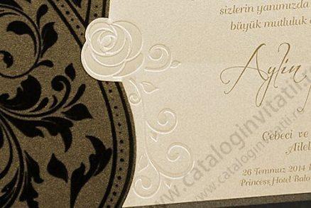invitatie nunta cod 2568