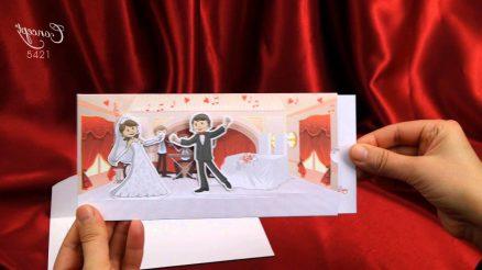invitatie nunta cod 5421