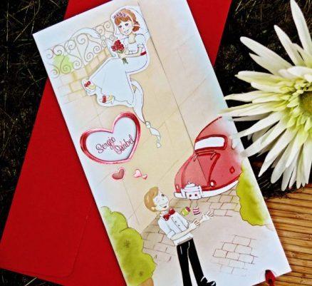 invitatii nunta cod 32708