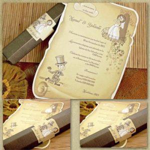 invitatie nunta cod 32732