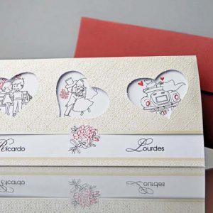 invitatii nunta cod 34900