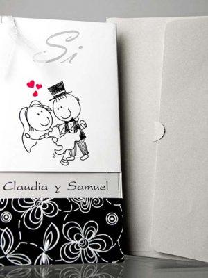 invitatii nunta cod 34903