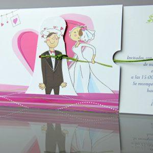 invitatii nunta cod 34905