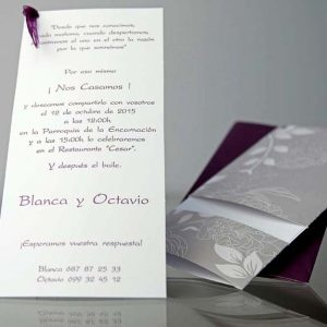 invitatii nunta cod 34906