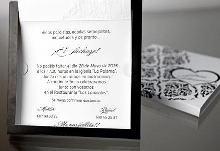 invitatii nunta cod 34910