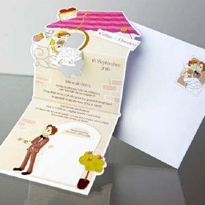 invitatii nunta cod 34927