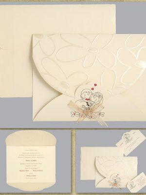 invitatie nunta cod 01.15.411