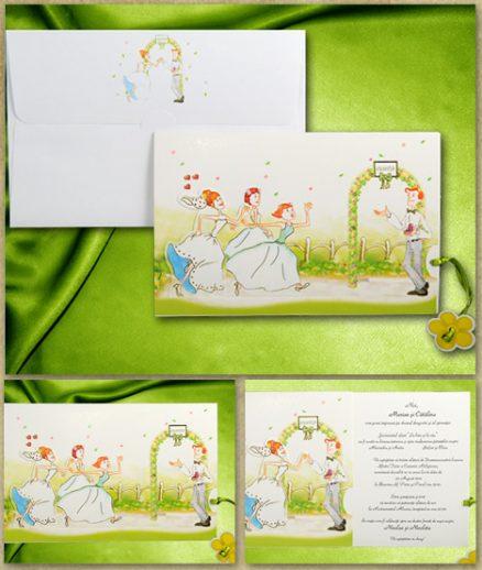 invitatii nunta cod 01.40.014