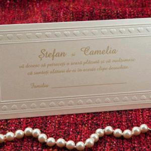 PlicBani Nunta Place Card 1055