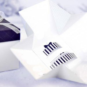 nvitatii nunta cutie tort 39107