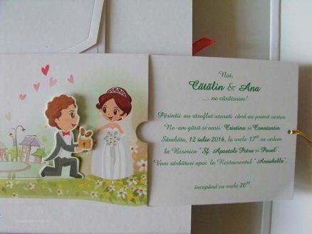 invitatii nunta haioasa