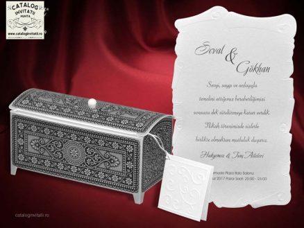 invitatie nunta cod 5479