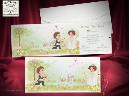 invitatii nunta cod 5322