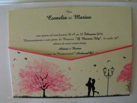 cod 5468 invitatie nunta