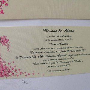 Invitatii nunta 5475