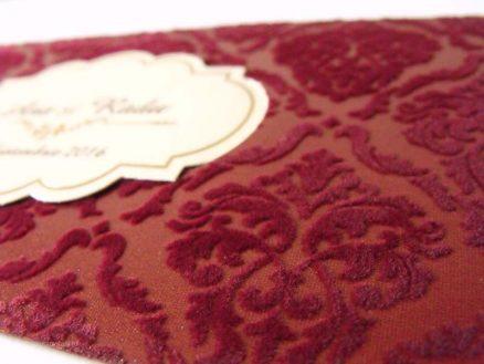invitatie vintage 5504