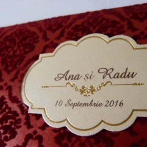 invitatie nunta cod 5504