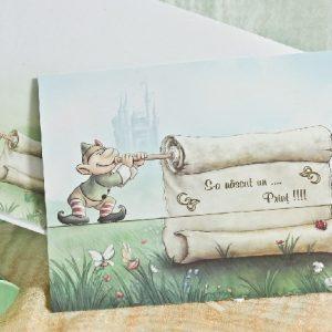 invitatie elfi detaliu