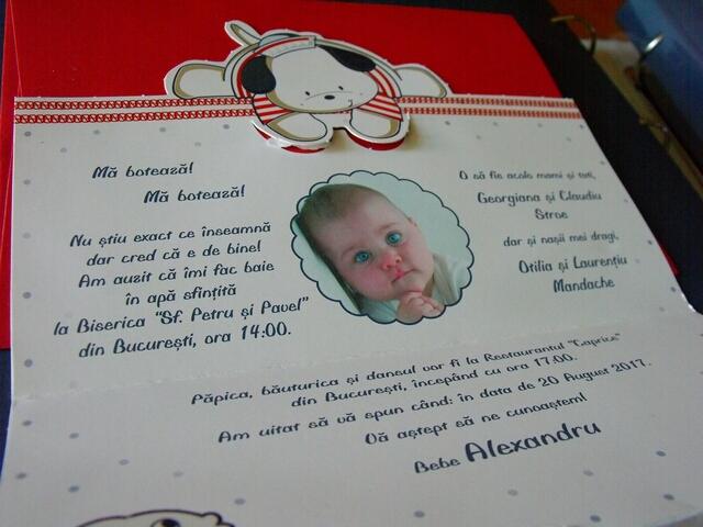 Invitatie Botez Baietel Ma Boteaza 15506 Cataloginvitatii