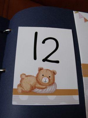 numar masa cu ursulet
