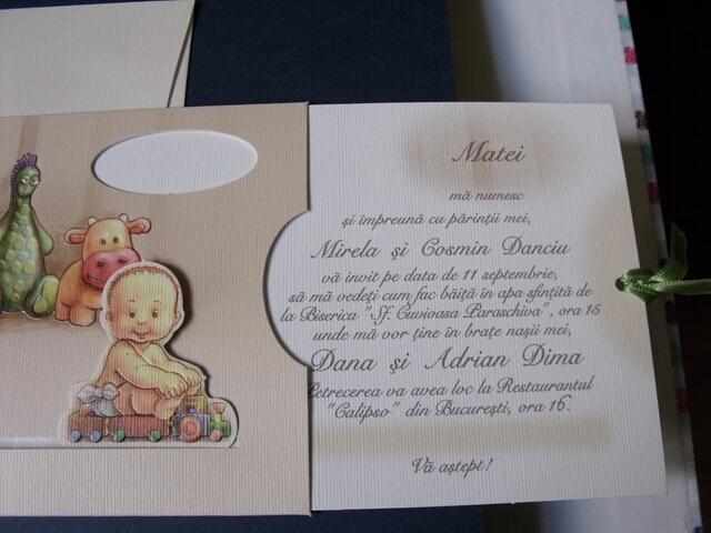 Invitatie Botez Baietel Cu Jucarii 15108 Cataloginvitatii