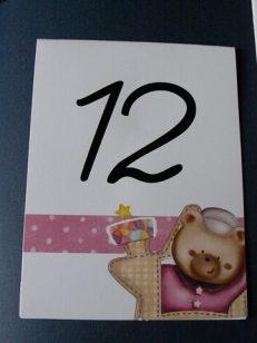 numar botez ursulet fetita