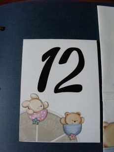 numar masa ursulet iepuras