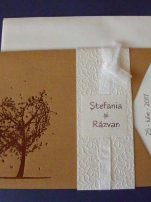 invitatie nunta toamna