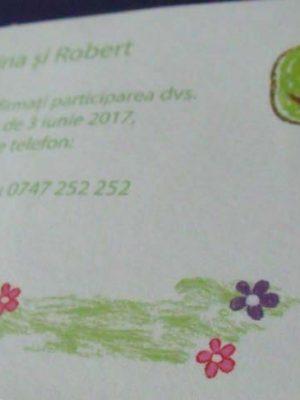 card confirmare verde
