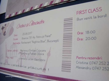 bilet avion prima clasa