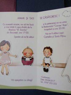 Invitatii Nunta Si Botez 2 In 1 Cataloginvitatii