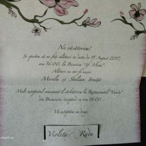 detaliu text invitatie