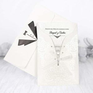 invitatie corset rochie mireasa 39203