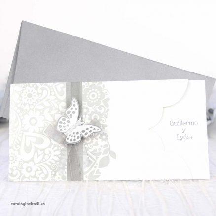 invitatie fluture 3d