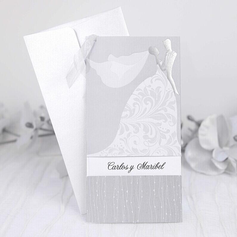invitatie model floral rocco mire si mireasa 39214