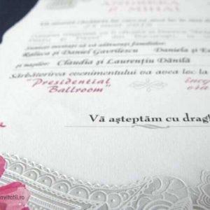 detaliu final invitatie