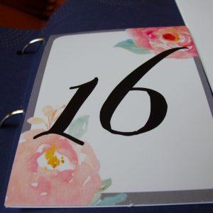 numar masa trandafiri acuarela