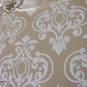 detaliu macro design baroc