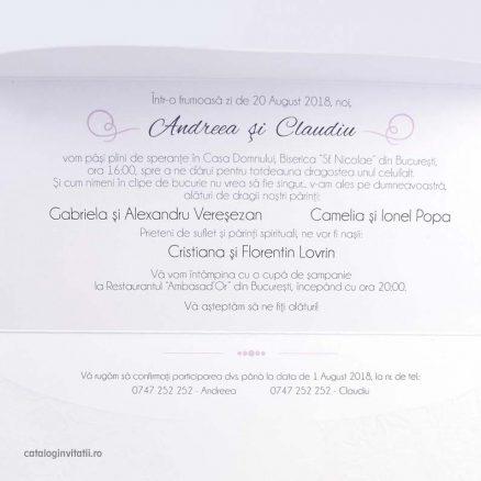text invitatie