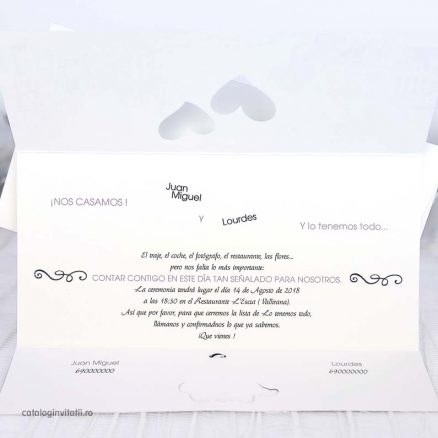 text invitatie nunta just maried